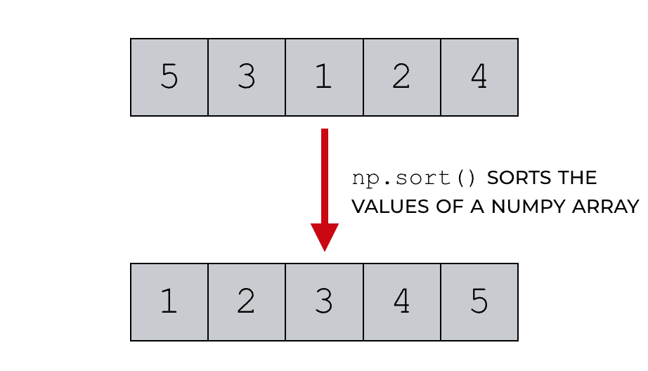 A quick guide to NumPy sort